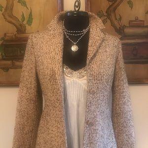 Gorgeous tweed blazer & cami w/ sequin details